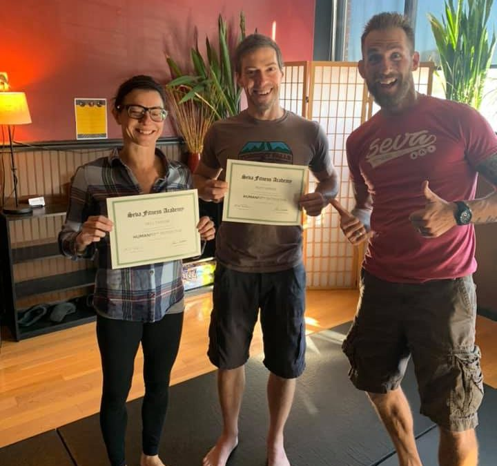 Newly Certified Trainers